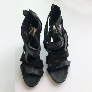 Dolce Vita Black Heels 8.5